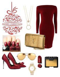 Designer Clothes, Shoes & Bags for Women Linda Farrow, Nars Cosmetics, Berry, Yves Saint Laurent, Kate Spade, Times, Shoe Bag, Lady, Polyvore