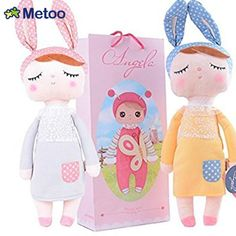 $26.04 - Cool 1 Pc Metoo Doll Bonecas Soft Health Plush Rabbit Baby with Gift Bag Kids Toys for Children Birthday Christmas Girl Dolls - Buy it Now!
