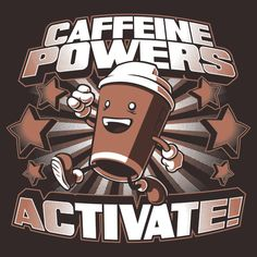 Passion: Coffee ~ I love coffee! I'm addicted to coffee! I CANNOT live without my coffee! Consider yourself safe if you are bearing gifts of coffee with you in the morning ; Coffee Talk, I Love Coffee, My Coffee, Coffee Cups, Coffee Break, Coffee Shirt, Drink Coffee, Coffee Zone, Starbucks Coffee