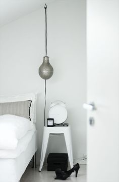 Home Decor – Bedrooms : #bedroom #white #styling -Read More –