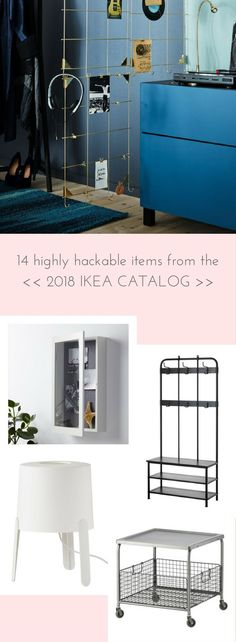 Just looking at the 2018 IKEA Catalogue and imagining possible hack projects. I'm pretty excited about some of these possibilities. Have you any planned? #IKEAMY http://www.ikeahackers.net/2017/09/14-hack-items-2018-ikea-catalogue.html