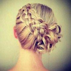 Side braid & bun
