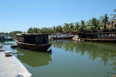 Thu Bồn River, Hội An, Quang Nam Province, Vietnam