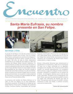 """Boletín electrónico """"Encuentro"""" quincena de Junio, léelo en el siguiente enlace: http://issuu.com/congregacionbp/docs/15na_junio__2015"""