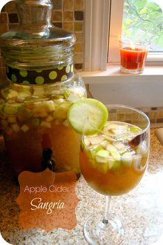 the happy little tomato: Apple Cider Sangria