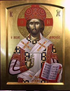 Μέγας Αρχιερέας. Life Of Christ, Jesus Christ, Sign Of The Cross, High Priest, Byzantine Icons, Religious Icons, Orthodox Icons, Christian Art, Christianity