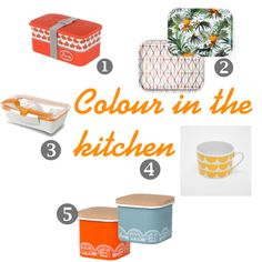 Colour in the kitchen can really brighten a kitchen and these lovely colourful kitchen accessories look amazing in white bright modern kitchen All White Kitchen, Home Decor Kitchen, Kitchen Ideas, Kitchen Colors, Beautiful Space, Kitchen Accessories, Cool Kitchens, Living Room Decor, Bright
