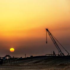 현대건설이 시공중인 카타르 신항만 건설공사  Hyundai E&C is constructing the new harbor in Qatar  #현대자동차그룹 #hyundaimotorgroup #현대건설 #카타르 #Qatar #시공 #글로벌 #hope #여행스타그램 #HyundaiEnC