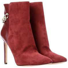 Nine West Ankle Boots (56.960 HUF) ❤ liked on Polyvore featuring shoes, boots, ankle booties, garnet, ankle boots, leather ankle bootie, stiletto booties, stiletto boots and nine west boots