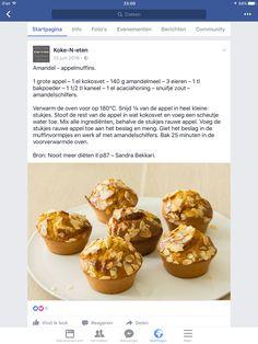 Amandel Appel muffins