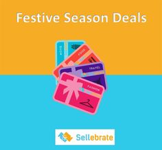 This Festive Season, Gift a #SELLEBRATE #GiftCard to your loved ones on attractive Discounts!