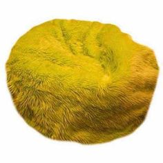 Large Beanbag, Multiple Colors, Yellow