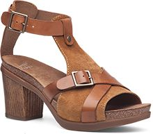 These lool comfortable and cute. The Dansko Camel Leather from the Dominique collection.
