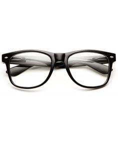 Sunglasses Classic Black Frame Eyewear Retro 80's Classic - Clear - CS126NB314X #Sunglasses#Classic#Black#Frame#Eyewear#Retro#80s#Classic#Clear#CS126NB314X Eye Protection, Wayfarer Sunglasses, Outdoor Woman, Out Of Style, Vintage Men, Vintage Inspired, Eyewear, Lens, Retro