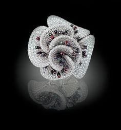 Palmiero Jewellery Design 'Flowers Bell Flowers' Ring