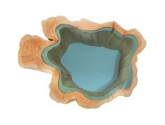 Wood Tables Embedded with Glass Rivers by Greg Klassen04
