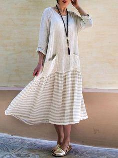 Túnica oversize minivestido VESTIDO LONGSHIRT vestido de punto flor Print 44 46 Italy