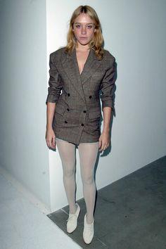 Tights - blazer as dress