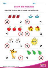 Math Count how many worksheets pre-k Shape Worksheets For Preschool, Number Worksheets Kindergarten, Math Addition Worksheets, Money Worksheets, Shapes Worksheets, Kids Learning Activities, Preschool Math, Rules For Kids, Math For Kids