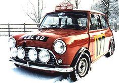 Historic Rally & Classic Race Cars: Mini Cooper S Classic Race Cars, Best Classic Cars, Classic Mini, Mini Cooper S, Mini Morris, John Cooper Works, Chasing Cars, Mini Clubman, Minis