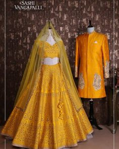 Labels South Indian Brides Are Loving For Their Mehendi! Labels South Indian Brides Are Loving For Their Mehendi! Indian Bridal Sarees, Indian Wedding Wear, Indian Bridal Outfits, Indian Bridal Fashion, Bridal Lehenga Choli, Indian Wear, India Wedding, Lehnga Dress, Indian Dresses