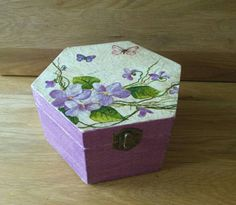 Check out this item in my Etsy shop https://www.etsy.com/listing/265704315/purple-jewelry-box-wooden-decoupage-box