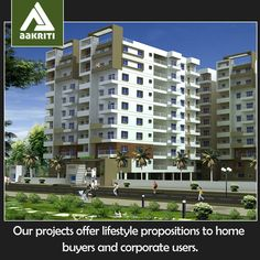 Our projects offer lifestyle propositions to home buyers and corporate users. #Flats and #apartments #sale #Nallagandla #Hyderabad http://www.aakritihousing.com/