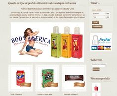 Avenue Manhattan, boutique en ligne de cosmétiques et de produits alimentaires américains http://www.clicboutic.com/blog/2013/05/03/boutique-de-la-semaine-avenue-manhattan/