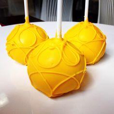 cake pop amarelo e azul - Pesquisa Google