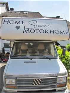 Sweet MomEnt: Home Sweet Motorhome - Un camper shabby