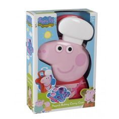 Peppa Pig Chef Case [Toy] by Toyland Little Girl Toys, Toys For Girls, Toddler Christmas Gifts, Kids Christmas, Peppa Pig House, Minnie Mouse Toys, Toddler Girl Gifts, Baby Hair Accessories, Toys Uk