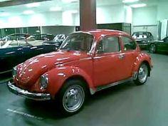 Classic 1976 VW Beetle Super Bug L Bumble Bee
