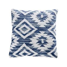 The 20 x 20 Serranos Blue Boho Textured Pillow was inspired by traditional celebrated Navajo textile designs. An to easy-clean removable cover features gorgeous ancestral patterning styled in Crema, Grey, and varied shades of blue. Brown Pillows, White Pillows, Accent Pillows, Turquoise Pillows, Turquoise Accents, Pillow Texture, Down Feather, 20x20 Pillow Covers, Craft Stick Crafts