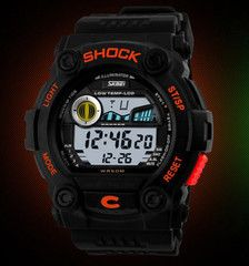 SHOCK Tactical Watch II LIMITED TIME ONLY! NOT SOLD IN STORESPlease allow 2-4 weeks for deliveryLimit: 5 Per CustomerFeatures:Auto Date,Diver,Alarm,Chronograph,Water Resistant,Complete Calendar