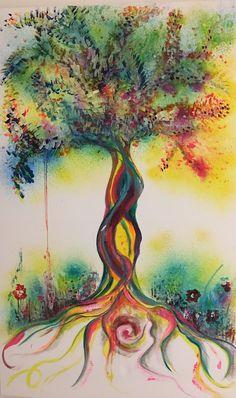 Die 70 Besten Bilder Von Baum Malen Baum Malen