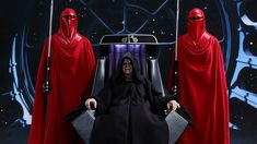 Hot Toys Deluxe Emperor Palpatine and Royal Guards John Wesley Shipp, Star Wars Legacy, Emperor Palpatine, Star Wars Sith, Galactic Republic, Royal Guard, Star Wars Pictures, Comic Movies, Captain America