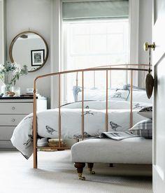 Image result for rustic gold bed frame