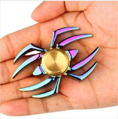 NEW BEST Fidget Hand Spinner ADHD Autism Reduce Stress Focus Attention Toys  #Unbranded
