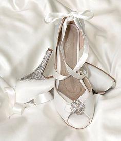 e33d2ffed5 Angela Nuran Starletta Glitz - Crystal Heel Bling Wedding Shoes, Bridesmaid  Jewelry, Wedding Jewelry