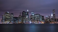 Skyline Manhattan from Brooklyn (@Tapion)