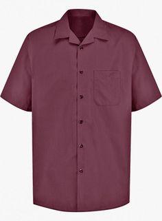 Men's Convertible Collar Shirt