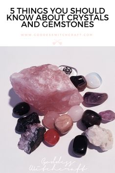 5 Things You Should Know About Crystals And Gemstones http://goddesswitchcraft.com/crystals-and-gemstones/?utm_campaign=coschedule&utm_source=pinterest&utm_medium=Belinda%20Jacobson&utm_content=5%20Things%20You%20Should%20Know%20About%20Crystals%20And%20Gemstones