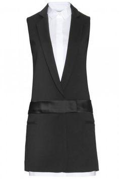 Fall 2013- V.Beckham Dress Inspiration.  *Note- buy loooong blazer @ Goodwill to deconstruct.