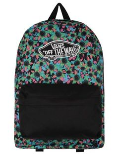 3949ad8f5ef Vans Black   Coral Beach Girl Trucker Cap. See more. Buy Vans Floral Mix  Realm Backpack