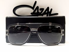 219ee389df0d CAZAL Matte Black Silver Mod 661 3 Col 002 Made in Germany 100 Authentic