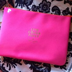 "#poshfind on Poshmark: ""Kate Spade Live Colorfully Case""! #poshmark #fashion #shopping #style #kate spade #Clutches & Wallets"