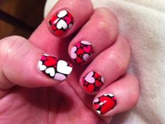 These are my Nail Strips made from Vinyl! They are way better than anything else I have used!