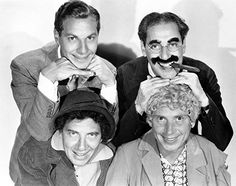 Groucho Marx, Chico Marx, Harpo Marx, Zeppo Marx, and The Marx Brothers in Duck Soup Zeppo Marx, Jessica Mendoza, Funniest Pictures Ever, Duck Soup, Funny Films, Abbott And Costello, Groucho Marx, The Three Stooges, Laurel And Hardy
