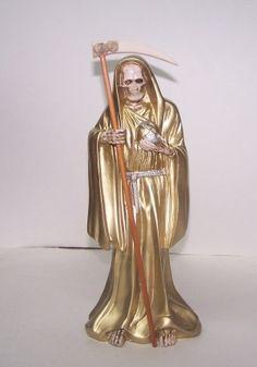 Santa Muerte Gold ,LA INICIASION ,LA PROSPERIDAD ,LA SUERTE .
