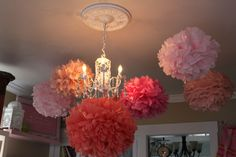 So pretty. Will definitely make these for an inexpensive party decoration.